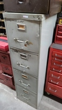 File cabinet with safety equipment