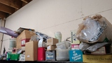 Top lot - fasteners, pipe snakes, tooling