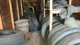 Large selection of assorted tires, 22.5 24.5 and