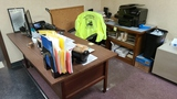 Front office desk (excluding comouter and