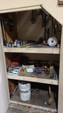 Contents of under stairs cabinet