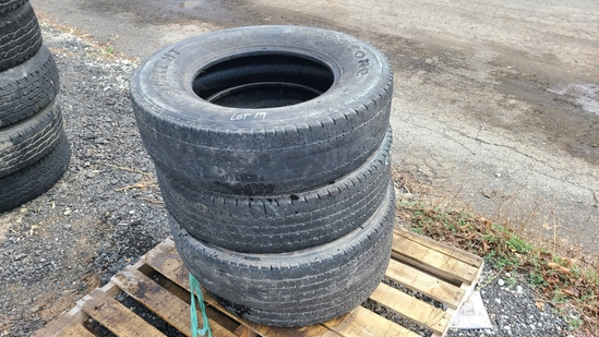 (4) 235 85 17 tires