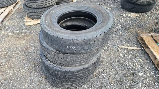 (4) 235 80 17 tires