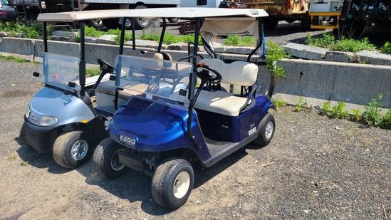 Ez Go tct gas golf cart