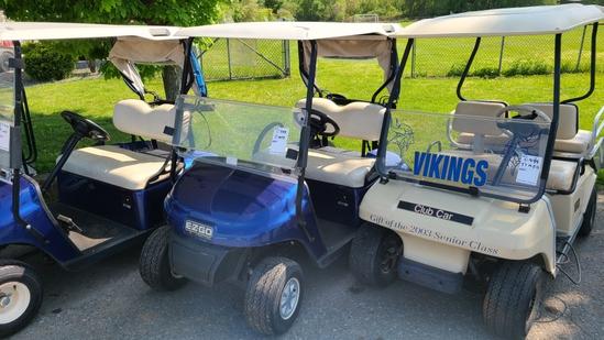 Ez go txt gas golf cart