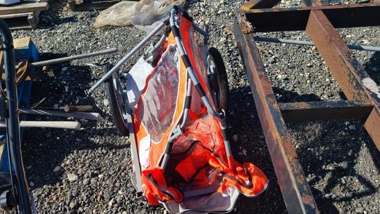 In tep bike cart