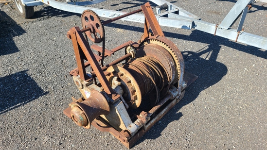 Hd cable winch