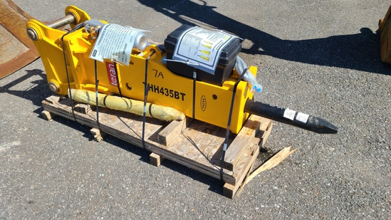 New Teran Thh435bt Hydraulic Hammer