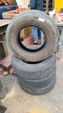 (4) 225 75 15 trailer tires