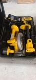Dewalt electric saw and drill