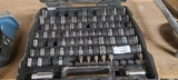 Incomplete socket set, 3/4 in, 1/2in, 1/4in drive