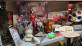 Shelf lot - toys and memorabilia