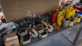 Shelf lot - assorted couplers, grommets, etc