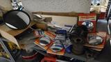 Shelf lot - assorted reflectors, mirrors