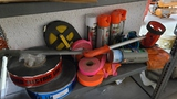 Shelf lot - assorted line striping tools