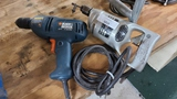 (2) electric drills