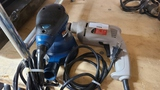 Corded drill and detail sander