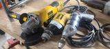 3pcs dewalt grinder, dewalt drill, power house