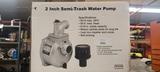 New 2 in semi trash water pump