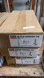 3 boxes of tension ties