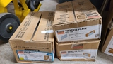 3 boxes of angle and tie plates