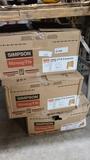 3 boxes of simspon 9.5 hangers