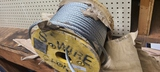 New spool 3/8 in galvanized aircraft cable