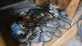 Lot - assorted belts