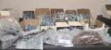 Shelf contents misc bolts, screws, nails