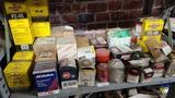 Shelf lot - assorted filters