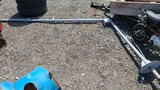 Swivel boom pole