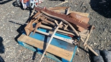 Pallet - antique hand tools