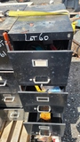 Filing cabinet with contents