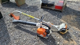 Stihl blower and trimmer