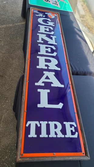 The general tire vintage sign