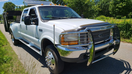 2000 Ford F550 Fontaine Custom Conversion