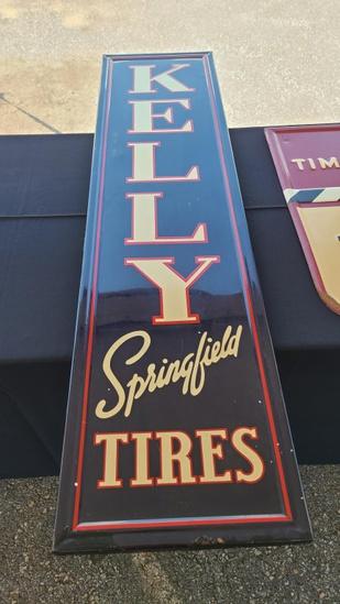 Vintage kelly tire sign