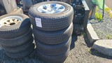 (4) 275/65/18 Tires And Rims