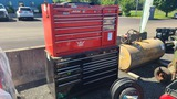 (2) Snap on tool boxes