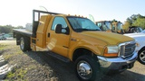 2001 Ford F450 Flatbed With Maintainter
