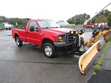 2005 Ford F250 with plow
