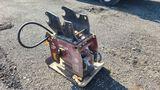 Allied Hydraulic Compactor - Fits Kubota KX80