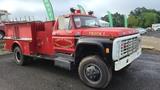 Ford F600 Fire Truck