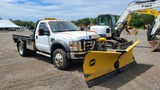 2008 Ford F550 With Plow