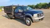 2006 Ford F550 Rack Body With Sander