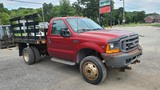 2001 Ford F550 Rack Body-parts Truck
