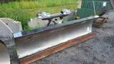 Minute mount 2 stainless plow
