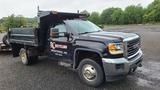 2016 Gmc 3500 6 Wheel Dump Truck