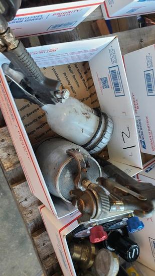 Box lot - 2x hvlp spray guns