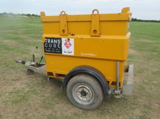 Western 950 litre Transcube bowser